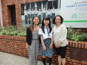 Local GS visiting Girl Scouts of Japan Headquarters in Tokyo