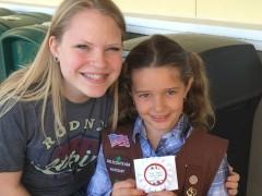 with her favorite big kid Katie Goodwin