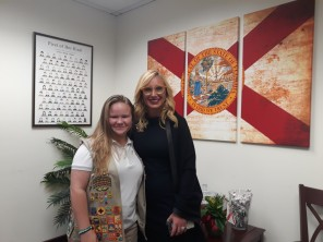 bailey with senator lauren book