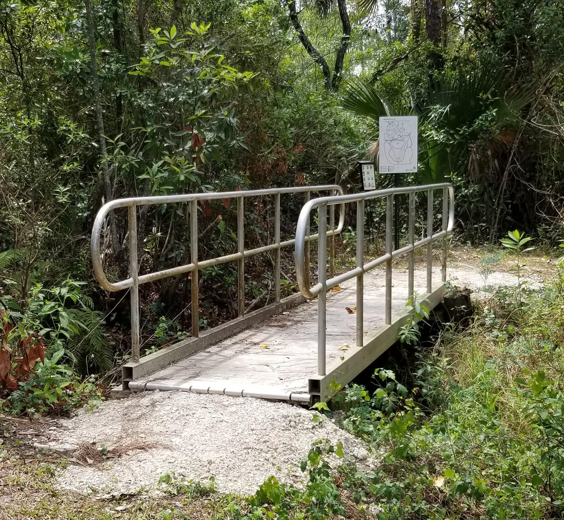 Bridge stabalized
